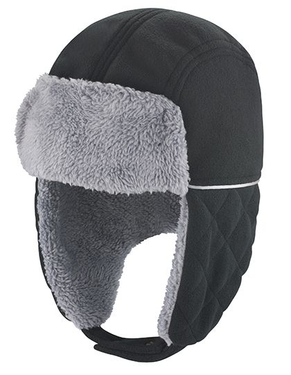 Ocean Trapper Hat - Winteraccessoires & Mützen - Mützen - Result Winter Essentials Black - Grey