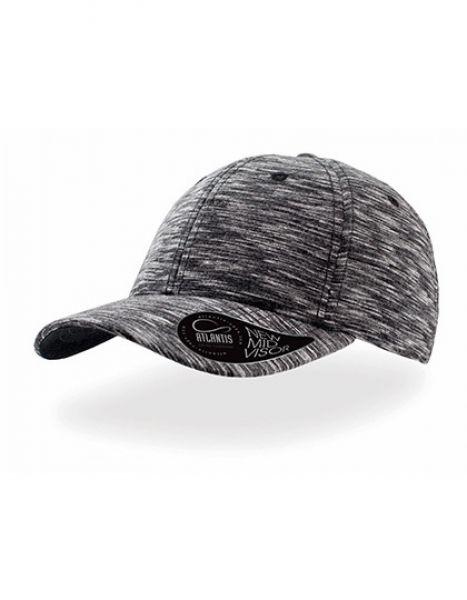 Mash-Up - Baseball Cap - Caps - 6-Panel-Caps - Atlantis Black Melange