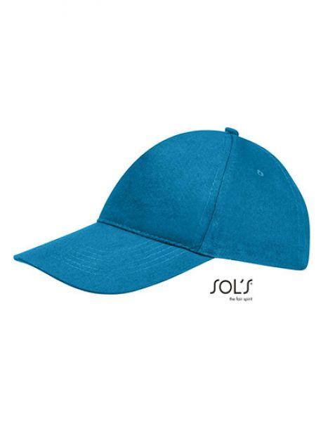Cap Sunny - Caps - 5-Panel-Caps - SOL´S Aqua