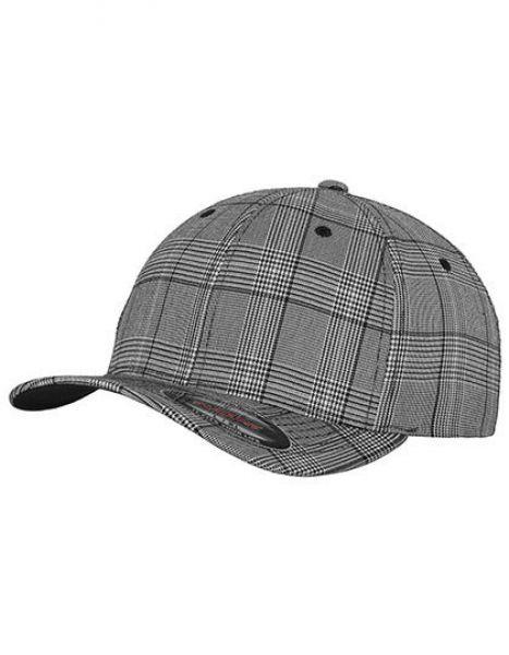 Flexfit Glen Check Cap - Caps - 6-Panel-Caps - FLEXFIT Black - White