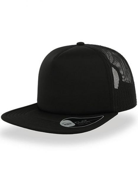 Snap 90S Cap - Atlantis Black - Black