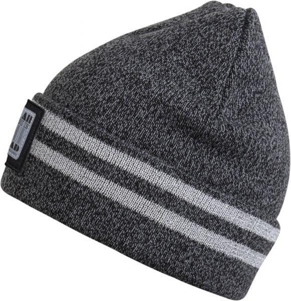 CHILLOUTS Xavier Hat Beanie Mütze in Grau Melange Wintermütze