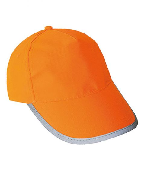High Visibility Cap for Kids - Caps - Sicherheits-Caps - Korntex Signal Orange