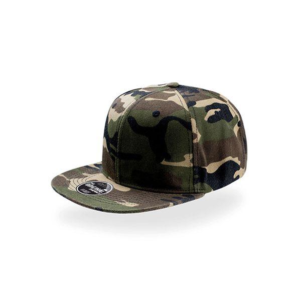 Unisex 6-Panel Cap Camouflage Snapback Cap Mütze