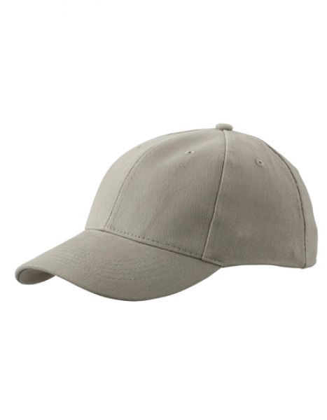 6-Panel Cap laminiert - Caps - 6-Panel-Caps - Myrtle beach Beige