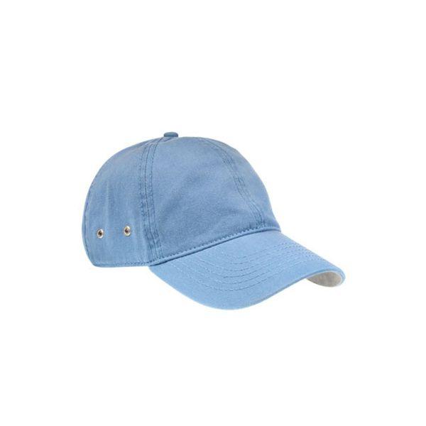 Unisex 6-Panel Cap Hell Blau Baseball Cap Mütze