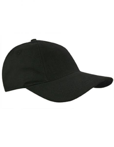 Brushed Promo Cap - Caps - 5-Panel-Caps - Printwear Black