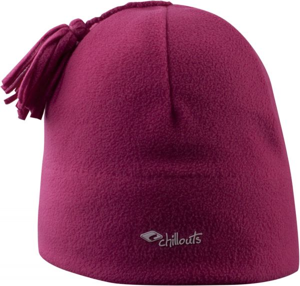 CHILLOUTS Freeze Fleece Pom Hat Wintermütze in Pink | Bommel Mütze