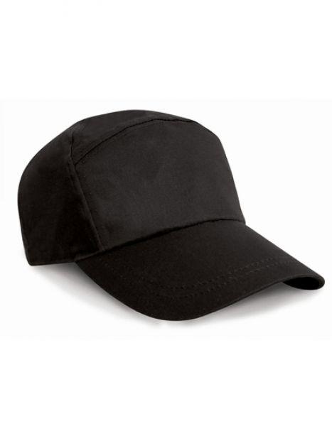 7-Panel Advertising Cap - Caps - 7-Panel-Caps - Result Headwear Black
