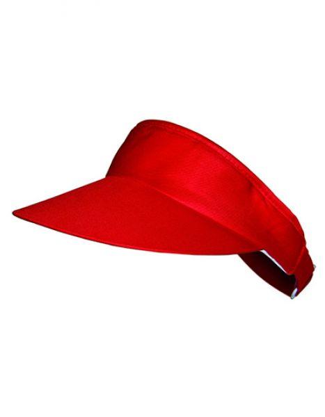 Stoff Sonnenblende - Caps - Sonnenblenden & Schildmützen - Printwear Red