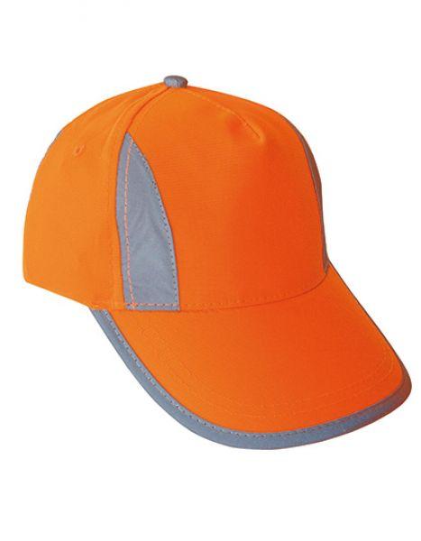 Premium High Visibility Cap for adults - Caps - Sicherheits-Caps - Korntex Signal Orange