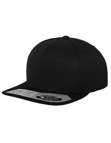 110 Fitted Snapback - Caps - 6-Panel-Caps - FLEXFIT Black