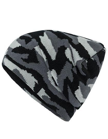 Camouflage Beanie - Myrtle beach Graphite-Light Grey
