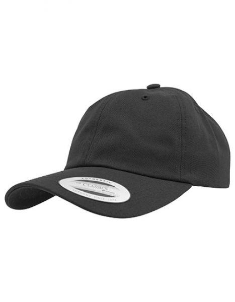 Low Profile Cotton Twill - Caps - 6-Panel-Caps - FLEXFIT Black