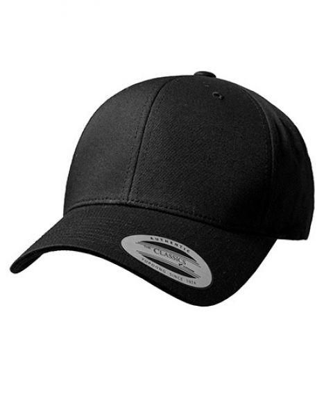 Curved Classic Snapback - Caps - 6-Panel-Caps - FLEXFIT Black