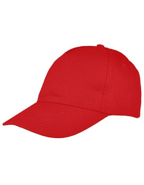 5 Panel Cap - Printwear Red