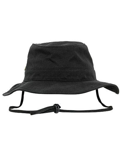 Angler Hat - FLEXFIT Black