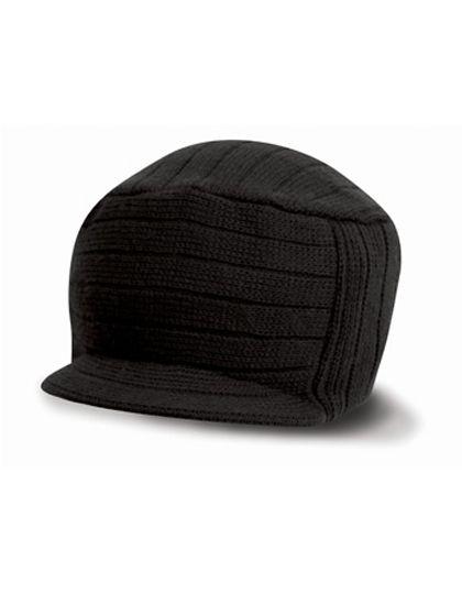 Esco Urban Knitted Hat - Winteraccessoires & Mützen - Mützen - Result Winter Essentials Black