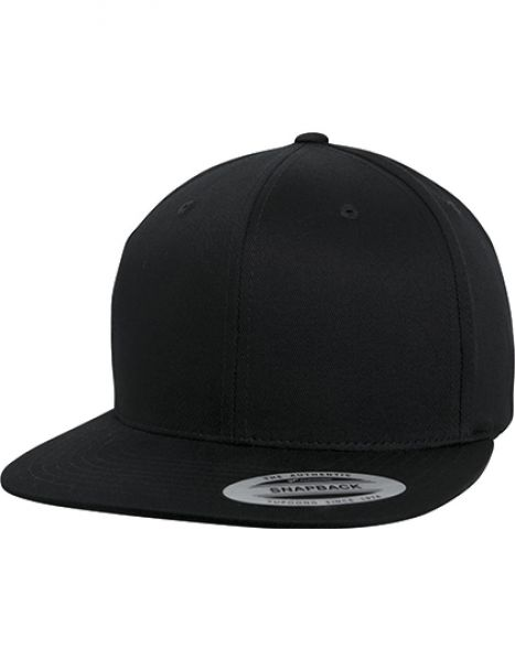 Organic Cotton Snapback - Caps - FLEXFIT Black
