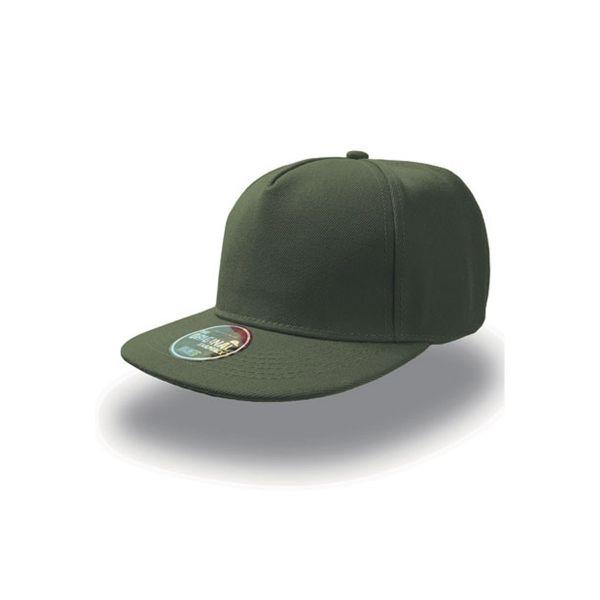 Unisex 5-Panel Cap Olive Grün Snapback Cap Mütze