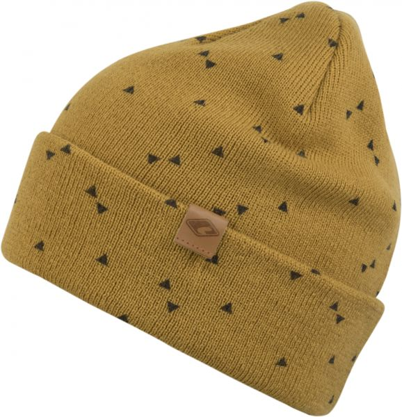 CHILLOUTS Drake Hat Herren Beanie Mütze in Curry Wintermütze