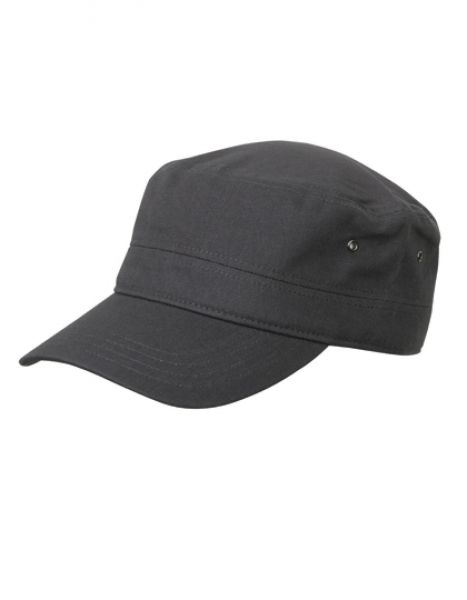 Military Cap - Caps - 3-Panel-Caps - Myrtle beach Anthracite