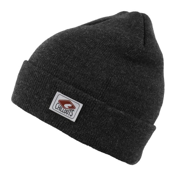 CHILLOUTS Mitch Hat Herren Wintermütze in Dunkelgrau | Strickmütze