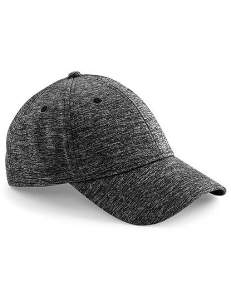 Spacer Marl Stretch-Fit Cap - Caps - 6-Panel-Caps - Beechfield Spacer Grey