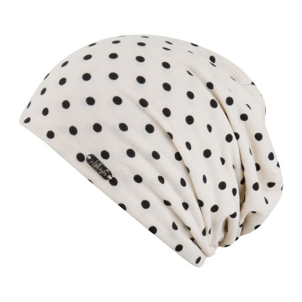 CHILLOUTS Lucerne Hat Damen Beanie Mütze in Creme Sommermütze