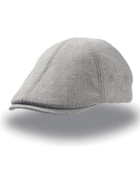 Stiffer Ivy Cap - Caps - Sonnenblenden & Schildmützen - Atlantis Grey