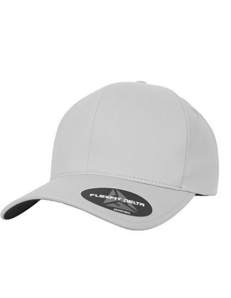 Flexfit Delta Adjustable - Caps - FLEXFIT Silver