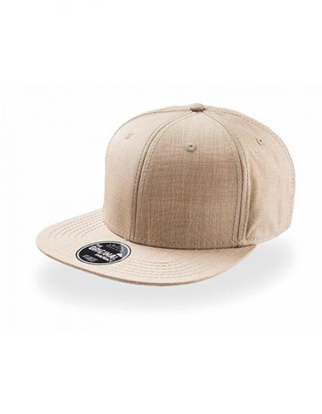Stage - Snap Back - Caps - 6-Panel-Caps - Atlantis Beige