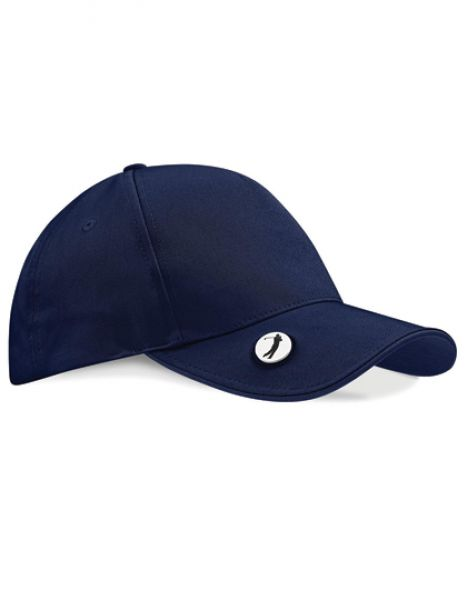 Pro-Style Ball Mark Golf Cap - Caps - Netz- & Sport-Caps - Beechfield French Navy - French Navy