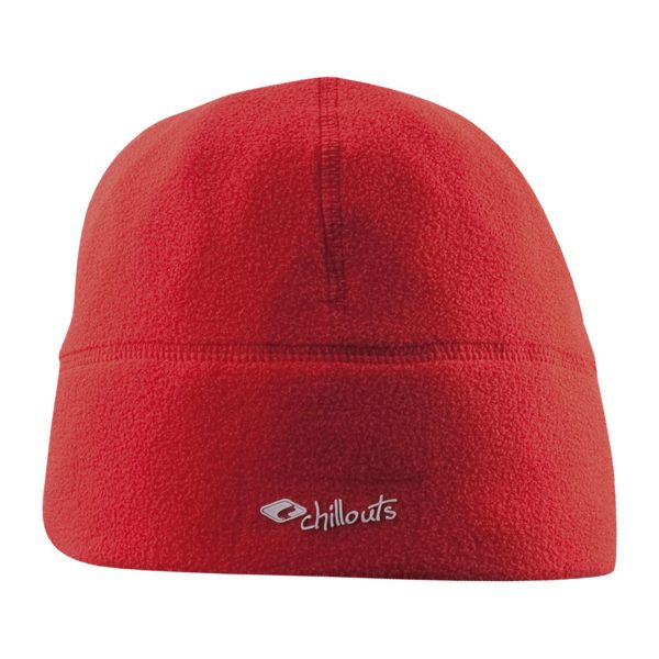 CHILLOUTS Freeze Fleece Hat Wintermütze in Rot | Strickmütze