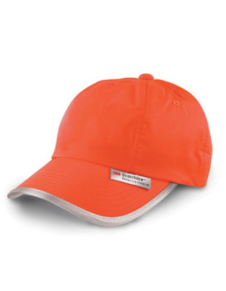 High Vis Cap - Caps - 6-Panel-Caps - Safe-Guard Fluorescent Orange