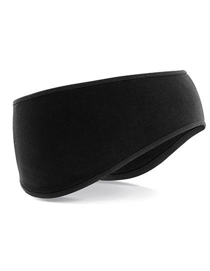 Softshell Sports Tech Headband - Beechfield Black