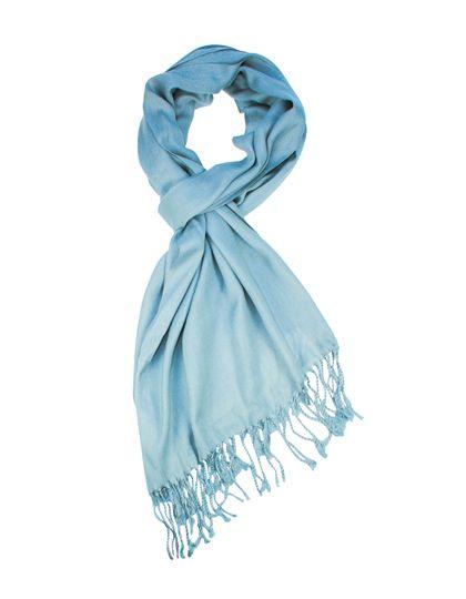Pashmina Schal - Winteraccessoires & Mützen - Schals - Printwear Babyblue