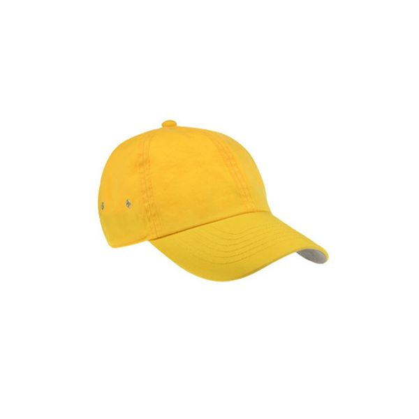Unisex 6-Panel Cap Gelb Baseball Cap Mütze