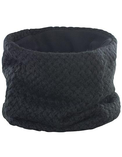 Braided Neck Warmer - Winteraccessoires & Mützen - Schals - Result Winter Essentials Black