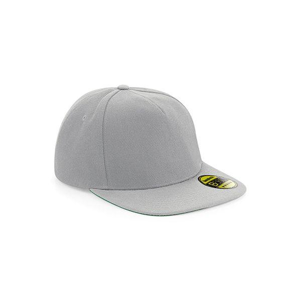 Unisex 5-Panel Cap Grau Grau Snapback Cap Mütze