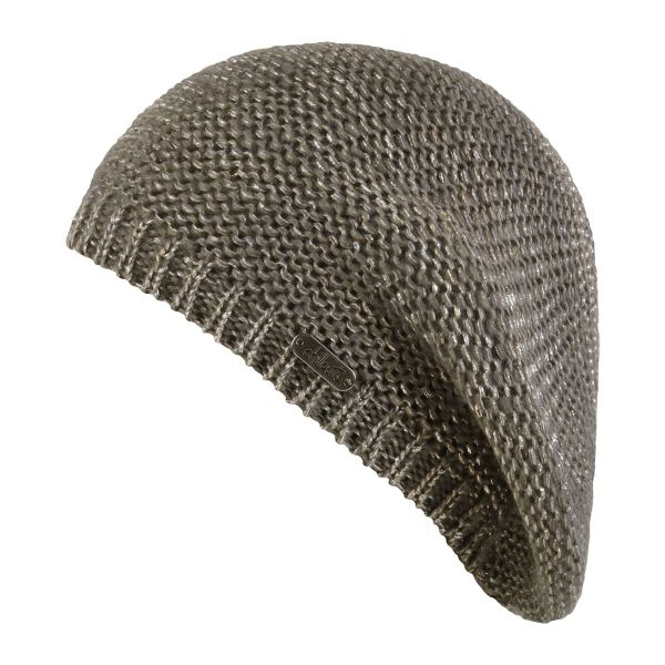CHILLOUTS Laura Hat Damen Wintermütze in Taupe | Strickmütze