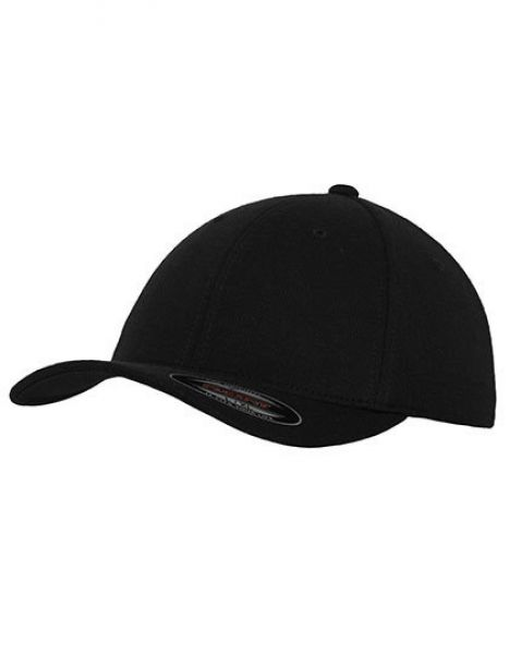 Flexfit Double Jersey Cap - Caps - 6-Panel-Caps - FLEXFIT Black