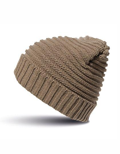 Braided Hat - Winteraccessoires & Mützen - Mützen - Result Winter Essentials Fennel - Black