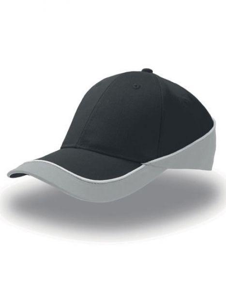 Racing Cap - Caps - 6-Panel-Caps - Atlantis Black - Grey
