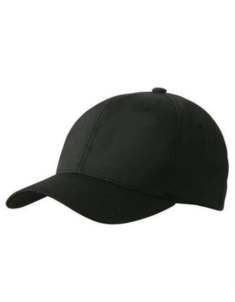 6 Panel High Performance Flexfit® Cap - Caps - 6-Panel-Caps - Myrtle beach Black