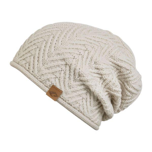 CHILLOUTS Cody Hat Herren Beanie Mütze in beige Wintermütze