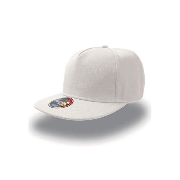 Unisex 5-Panel Cap Weiss Snapback Cap Mütze