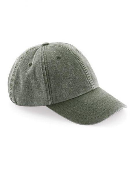 Low Profile Vintage Cap - Caps - 6-Panel-Caps - Beechfield Vintage Olive