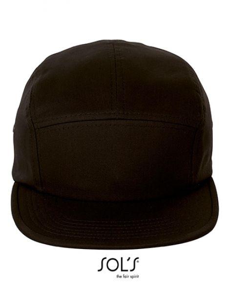 Parker Cap - Caps - 7-Panel-Caps - SOL´S Black