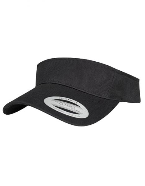 Curved Visor Cap - FLEXFIT Black